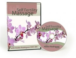 Self Fertility Massage DVD teaches you how to perform fertility massage for yourself.