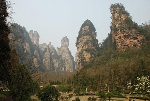 Zhangjiajie National Forest Park- Yep, I made it there... no language skills required!