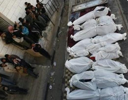 Mass Killings by Israel