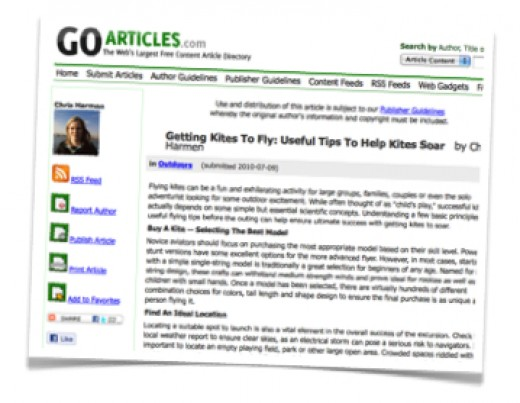The most important part of optimizing articles for article marketing is to write solid, keyword rich titles and to create powerful author bios that include keyword rich anchor text links.
