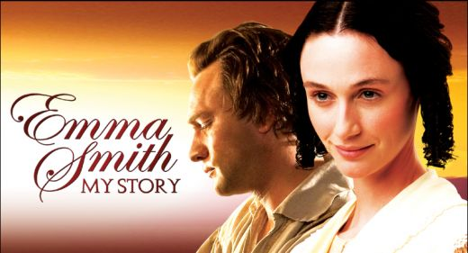 "Katherine Nelson Thompson and Nathan Mitchell portray Emma Smith and Joseph Smith Jr. in the movie ""Emma Smith: My Story."