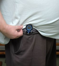 Pedometers For Sale-Exercise With Pocket Pedometers