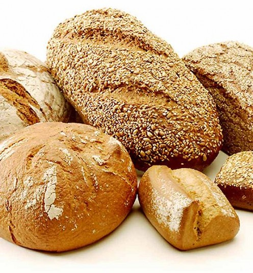 Healthy homemade bread can also be found at some farmers markets.