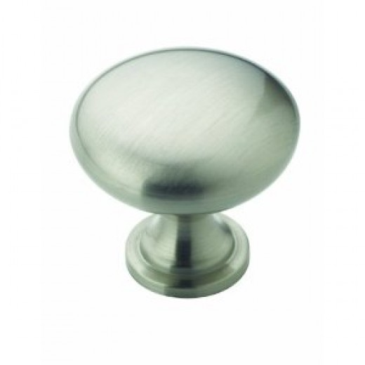 Amerock BP53005-G10 1-1/4-Inch Diameter Cabinet Round Knob, Satin Nickel