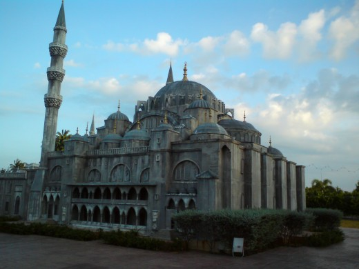 Suleymaniye or Suleyman Mosque or The Blue Mosque, Turkey