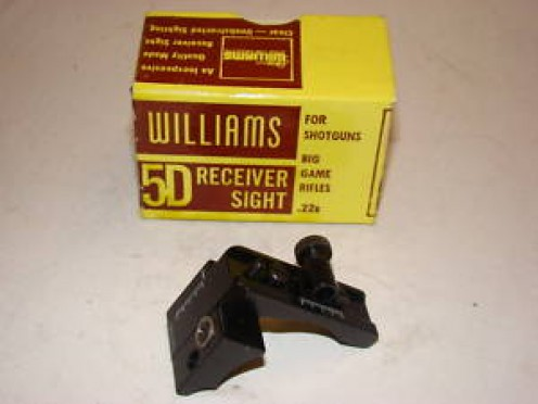 Williams sights still in production for most rifles