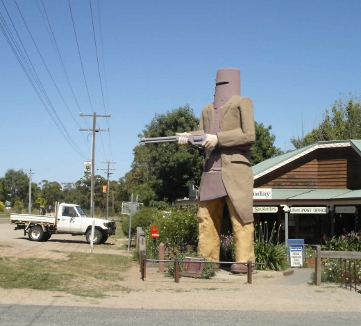 """...Such is Life"" - Ned Kelly just before they hanged him in  the Melborne Gaol."
