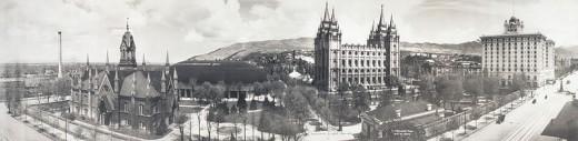 TEMPLE SQUARE 1912.