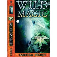 """Another cover design for """"Wild Magic"""""""