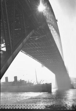 We arrive in Sydney after a seven-week voyage