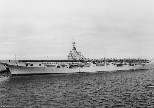 My first Navy ship, HMAS Sydney