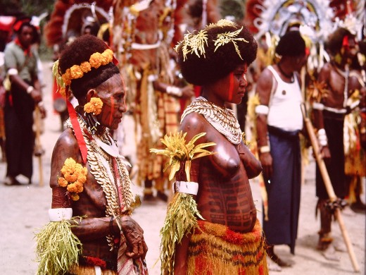 "Papua New Guinea.  It was all part of ""The Empire."""