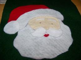 assembling santa face