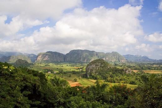 Farmland in Cuba,  Copyright: Gerry Vandermaesen