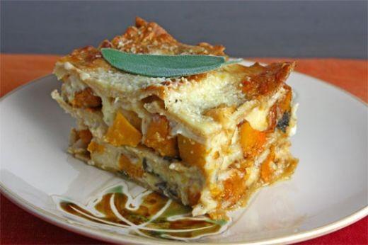 Best dinner recipe - Spinach Butternut and Feta Lasagne