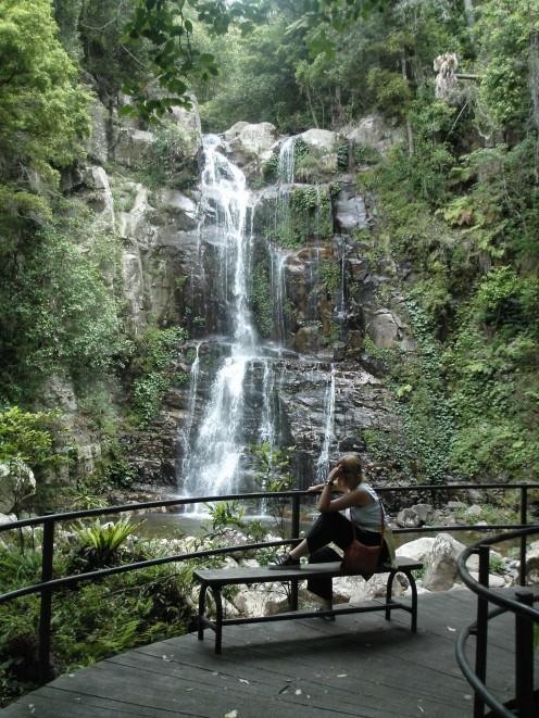 The Upper Falls at Minimurra