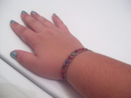 Simple bead changes can make a huge difference in the look of a bracelet.