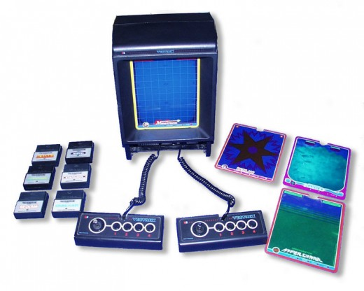 Home video game system, the MB Vectrex