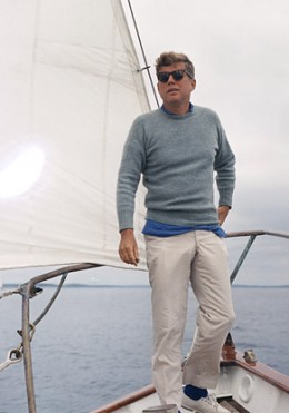 Kennedy yachting