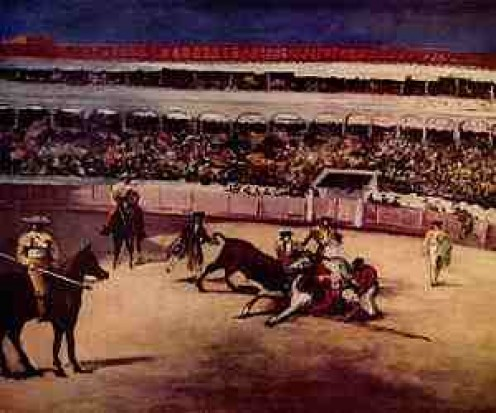 The grand spectacle of the Corrida de Toros as seen by Manet