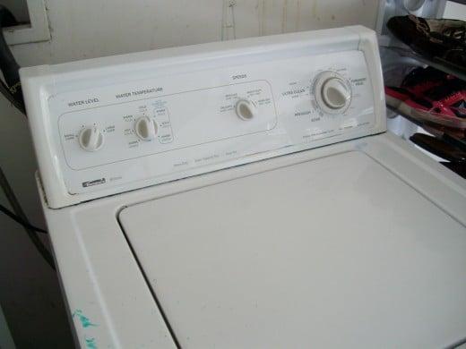 washing machine wont spin or drain water