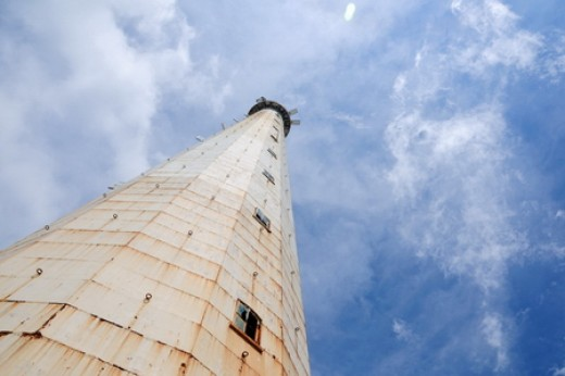The Lighthouse at Lengkuas Island (Photo by Wawies Wisnu Wisdantio)