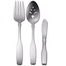Oneida Paul Revere Steel Flatware Set