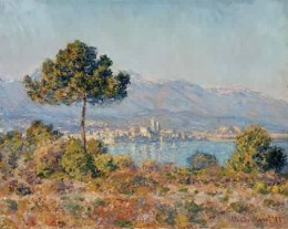 Antibes, by Claude Monet,  French Impressionism.