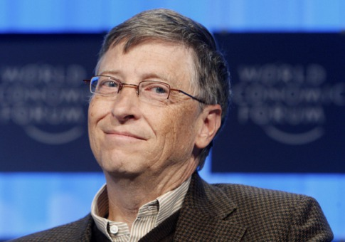 BILL GATES, 54 years old, US, Microsoft, $53 Billion