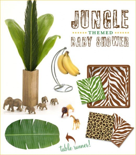 Jungle baby shower centerpieces image search results for Baby shower safari decoration