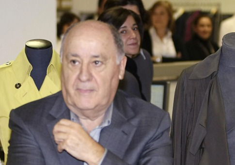 AMANCIO ORTEGA, 74 years of age, Spain, $25 Billion