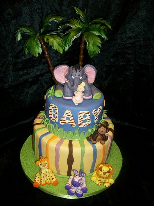 Novelty Baby Shower Cakes are fun to surprize your guests. Here is a ...