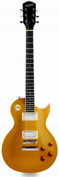 XV-500 features a solid three piece mahogany back, solid mahogany neck, bound rosewood fingerboard, bound flamed maple top and criticaly acclaimed GFS Crunchy Pat pickups.