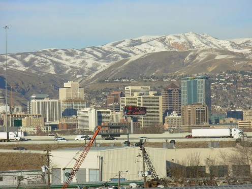 Salt Lake City. Contruction and development is booming through 2020.