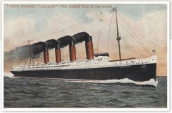World War 1 naval disasters- the sinking of the SS Lusitania