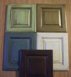 Kitchen Cabinet Refinishing- Creating a Custom Look