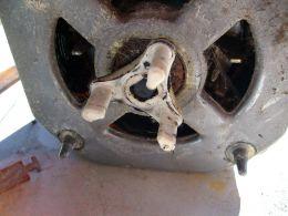 Coupler on the motor shaft