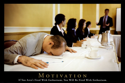 When there is no movation...
