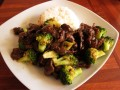 How to cook chinese beef with broccoli.