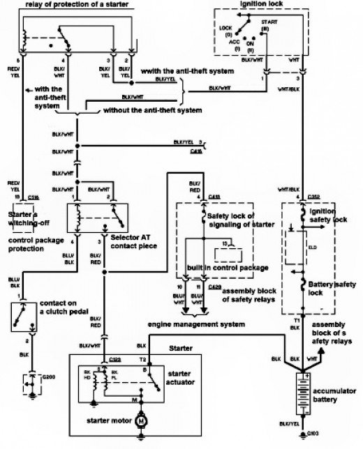 electrical    diagram    honda    civic      Circuit    Diagrams