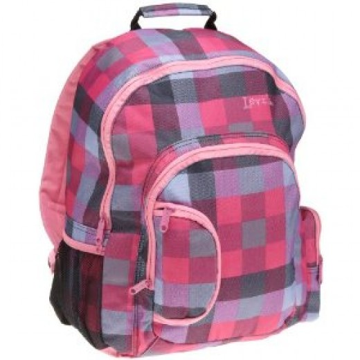 Levi's pink backpack for girls