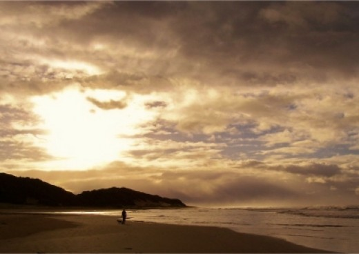 Bonza Bay beach. Photo by Teresa Schultz.