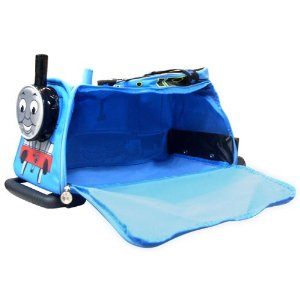 Thomas the Tank Engine rolling luggage bag