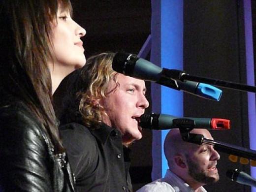 Left to right: Rosalee, Steve Carlson, Darren Sher