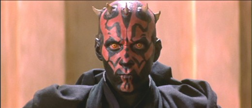 The horns and tattoos of Darth Maul drew upon depictions of the Devil.