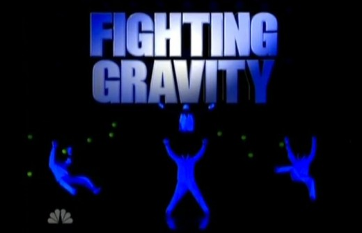 Fighting Gravity has been compared to breath taking vegas shows such as Cirque du Soleil and Blue Man Group.