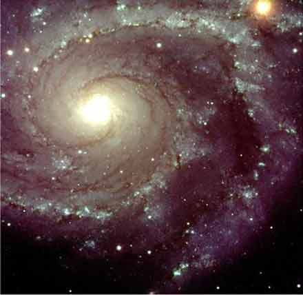 A typical galaxy like ours may contain between 100 to 400 billion stars, 20 percent of which may harbor planets.