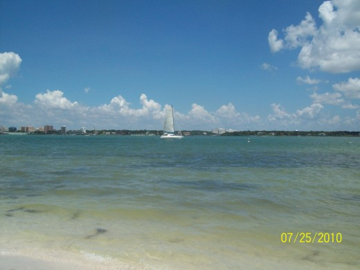 Cruise the beautiful waters of Clearwater, Florida.