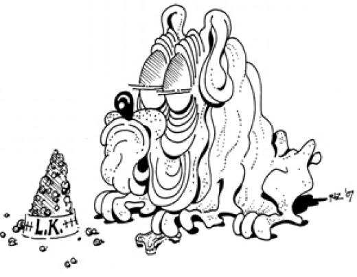 Lord Krinklepuss Dozes, by rlz