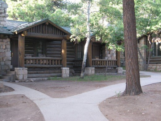 Cabin at Grand Canyon Lodge - North Rim